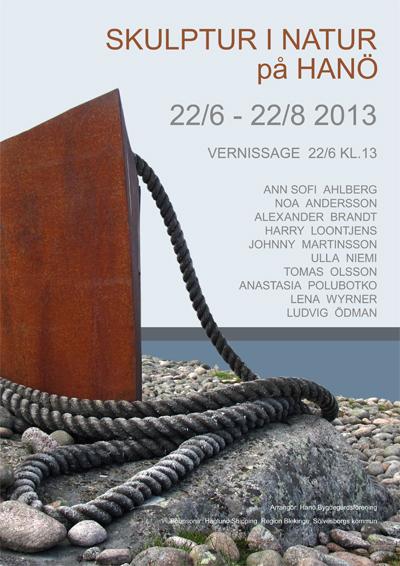 Hanö-affisch 400 br