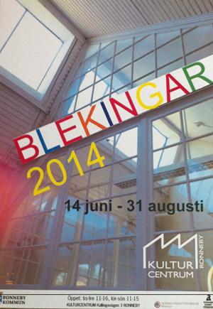 Kulturcentrum i Ronneby, Blekingar 2014